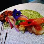 Restaurant AQUA Table - ⚪前菜