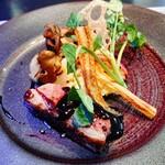 Restaurant AQUA Table - ⚪メイン - 鴨のロースト