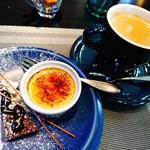 Restaurant AQUA Table - ⚪デザート - クリームブリュレ&ショコラ