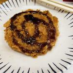 肉のヤマキ商店 - ハムカツ 140円