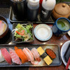 番やのすし 小杉店 - 料理写真:ワタシの彩りランチ。茶碗蒸しにサラダとお寿司。お得❤