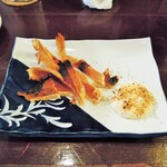 酒肴商店 アジト - エイヒレ炙り