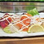 にぎり鮨 魚魚 - 海鮮サラダ
