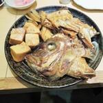 にぎり鮨 魚魚 - 鯛のあら炊き