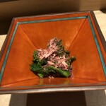 sushikoshikawa - 一品目の菜の花で心鷲掴み