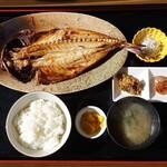 紀行茶屋 - 料理写真:あじ干物定食1,700円