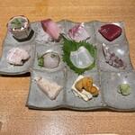 和彩厨房 KATURA - 刺身盛り合わせ