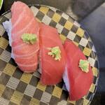 ぐるめ亭 - 料理写真:国産本マグロ3種盛り