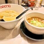 ガガナラーメン 極 - つけ麺