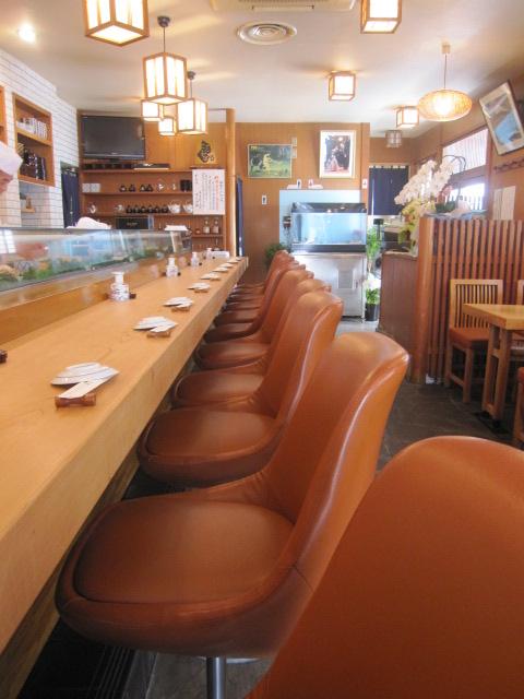 入船寿司 - 店内