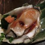 酒盃 - 男鹿産 夏の岩牡蠣 (2012/08)