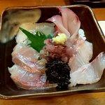 宵 - 海鮮丼(上から)(2020.12)