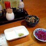 宵 - 海鮮丼の小鉢(2020.12)