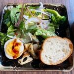 マケイヌノトオボエ - 前菜、バケット