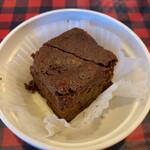 モンタナベーカリー - チョコレートブラウニー(¥250)