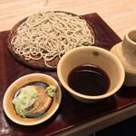 145295237 - 並木藪蕎麦(東京都台東区雷門)ざるそば 800円