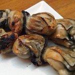 たち木 - 牡蠣の塩焼き