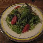 バー プルミエ - 「赤米のカレーライス」の「サラダ」です。