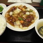 14530092 - 酢豚ライス (¥950)