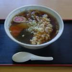 金兵衛食堂 - 料理写真:天ぷらラーメン 700円