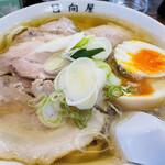 145300241 - チャーシュー麺、煮たまごトッピング