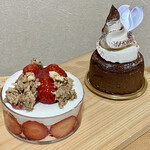 ラ・パティスリープレジール - ケーキ2種