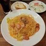 魚菜イタリアン SASUKE - 料理写真:Aランチ(800円)