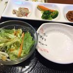 慶美 - サラダとおかず3種