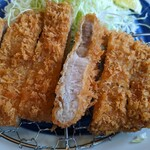 145308783 - 赤城豚ロースかつ定食(中・150g)(1560円+税)