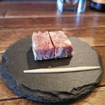bistro Tiroir - アミューズ 鹿肉のパテ