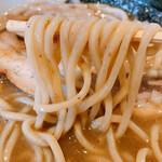 麺家 一鶴 - 太麺ストレート