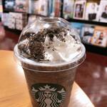 スターバックス・コーヒー - チョコレートオンザチョコレートフラペチーノ