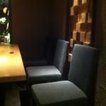 ひとはし - 奥のソファ席
