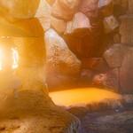 レストラン ラ・フォンテーヌ - 源泉掛け流し「岩風呂」