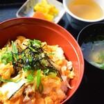ごはん亭 - 贅沢な百日鶏親子丼