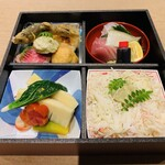井本 - 料理写真:テイクアウト 松花堂弁当  税込10000円