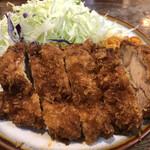 藤乃木 - 料理写真:チキンカツ定食