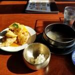 千里香 - 锅包肉・提供時。