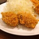 旬香亭 - 牡蠣フライ