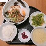 芝蘭 - 汁なし担々麺セット