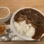 ウイング - 鹿カレー(珈琲セット)