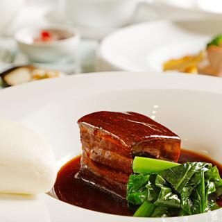 【ディナーコース】シェフの腕と旬の食材が光る中華料理ー