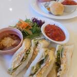 マリアージュ - 料理写真:ランチA(スコーン)&ランチB(サンドイッチ)