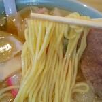 145346234 - ワンタンメンの低加水ストレート中細麺(R3.2.1撮影)