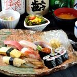 さしみ茶屋 樽寿司 - 2021年、早春の大満足ランチ。