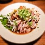 料理菜々 きりん - 地鶏 シャモのタタキ
