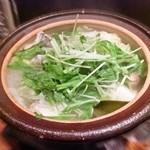 料理菜々 きりん - 淡路 鱧鍋 ※ポン酢で食べる仕様 (^^;