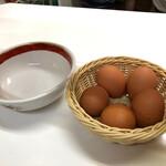145351106 - 卵は無料という嬉しいサービス