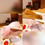 鶏そば煮干そば 花山 -