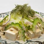 菜酒家FU-KU - ゴーヤーと海ぶどうのサラダ